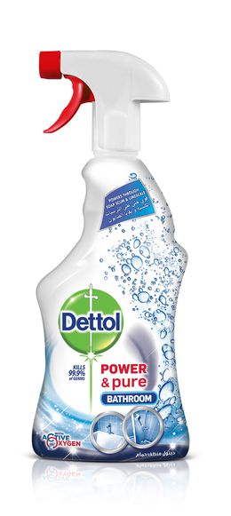 Dettol Power & Pure Bathroom Cleaner Trigger 500ml
