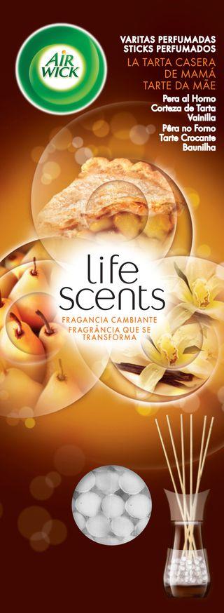 Sticks Perfumados Life Scents Tarte da Mãe