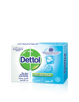 Dettol Anti-Bacterial Bar Soap Cool 90gm
