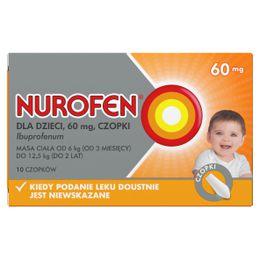 Nurofen dla dzieci (Ibuprofen 60 mg)