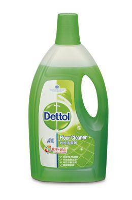 Dettol Complete Clean Floor Cleaner Green Apple
