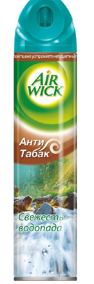 Освежитель воздуха Air Wick Анти-табак. Свежесть водопада, 240 мл