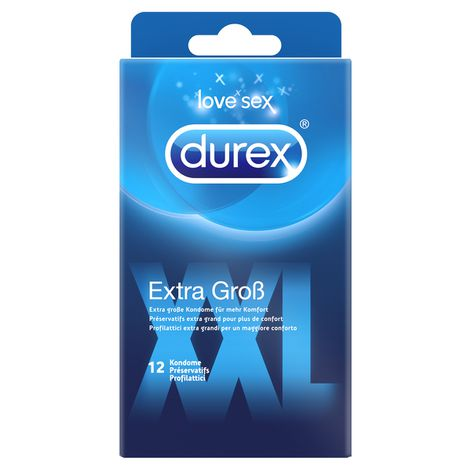 Durex XXL, 12 Kondome