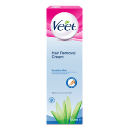 Veet® Hair Removal Cream Brightening for Sensitive Skin (50g)