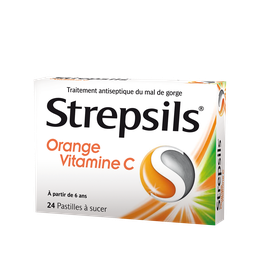 Strepsils Orange Vitamine C x24