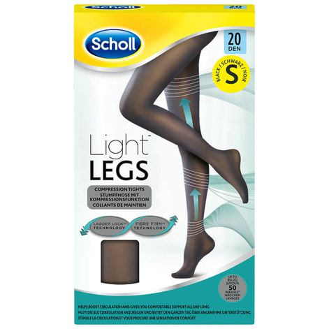 Collants Scholl Light Legs™ Noir 20D S