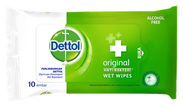 Dettol Anti Bakteri Wet Wipes Original