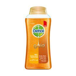 جل استحمام ديتول الذهبي المضاد للبكتيريا للتنظيف الكلاسيكي 250 مل