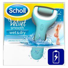Scholl Lima electrónica de durezas Velvet Smooth Wet&Dry