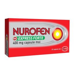 NUROFEN EXPRESS FORTE 400 MG CAPSULE MOI