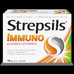 Strepsils  Immuno z Witamina C