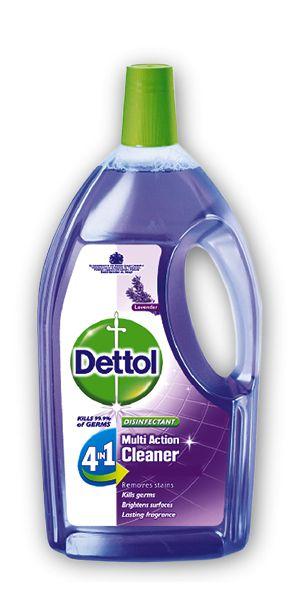 Dettol 4in1 Disinfectant Multi Action Cleaner Lavender 900ml