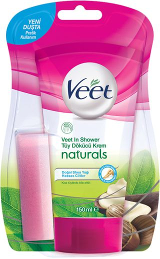 Veet® Duşta Tüy Dökücü Krem Naturals Doğal Shea Yağlı 150ml
