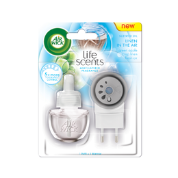 Elektrický osvěžovač vzduchu - strojek & náplň - Prádlo ve vánku