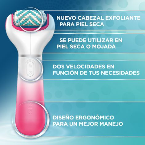 Scholl Pack Lima Electrónica con Cabezal Exfoliante