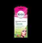 Восковые полоски для лица Veet Naturals с маслом ши с технологией Easy-Gelwax