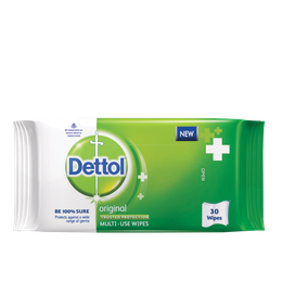Dettol Multi-Use Original Wipes - 10 pcs
