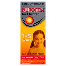 Nurofen For Children 1-5 Years Strawberry