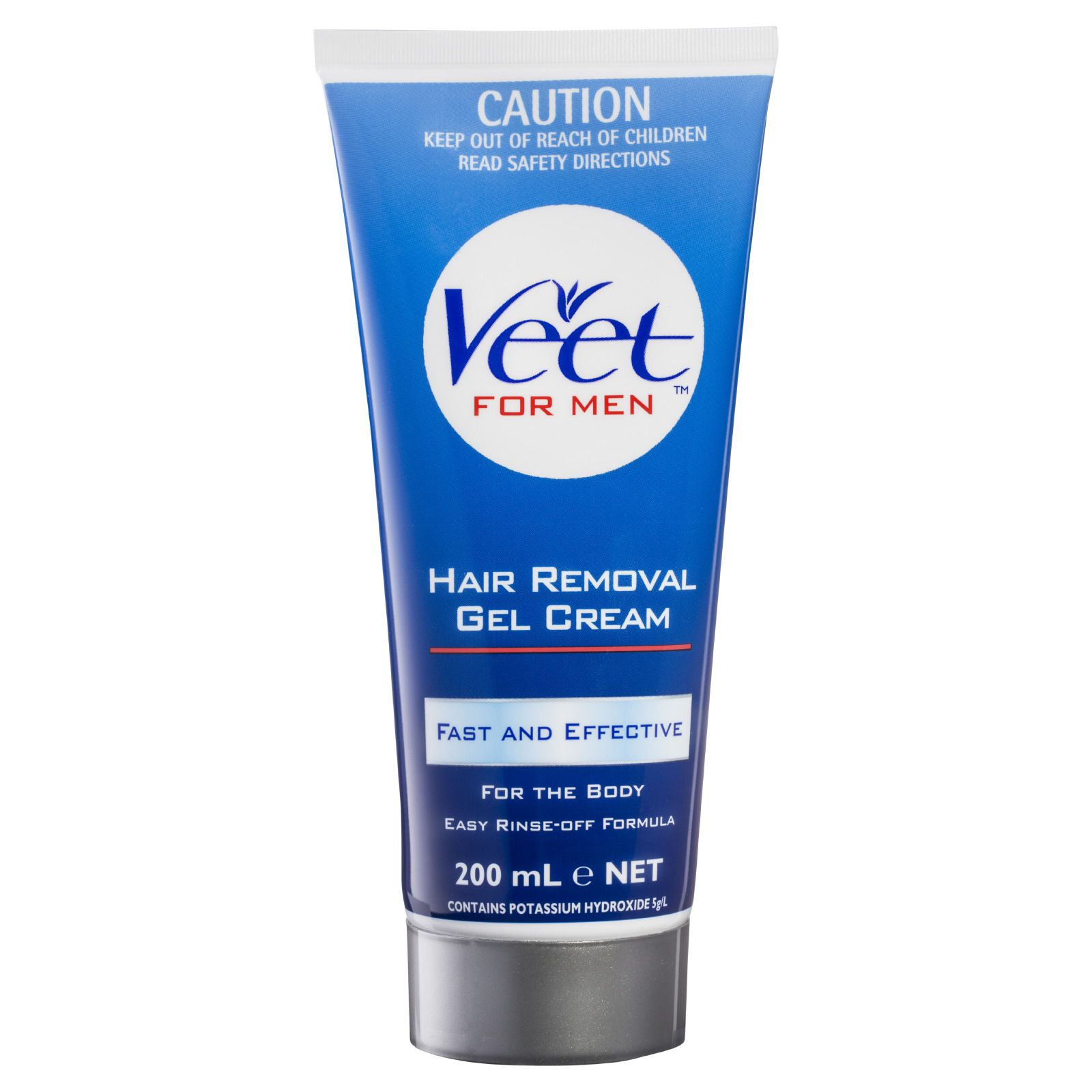 Veet For Men Hair Removal Gel Cream For The Body Veet Australia