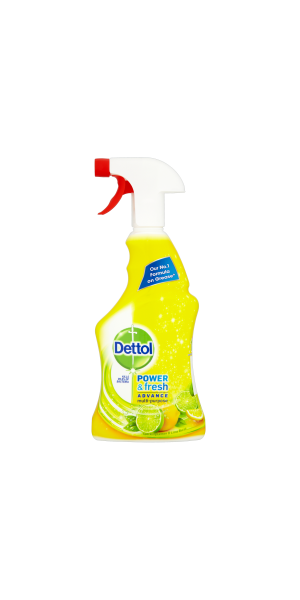 Dettol Power & Fresh Antibacterial Advance Multi-Purpose Spray - Citrus 500ml