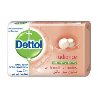 Dettol Anti-Bacterial Bar Soap Radiance 165g