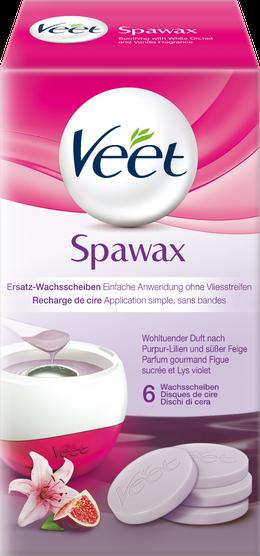 Veet Spawax Ersatz-Wachsscheiben