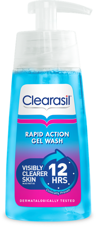Clearasil® Rapid Action Gel Wash
