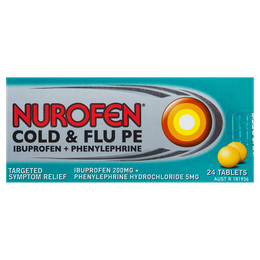 Nurofen Cold and Flu PE Tablets 24s