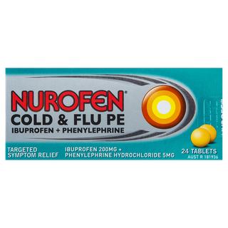 Nurofen Cold and Flu PE Tablets