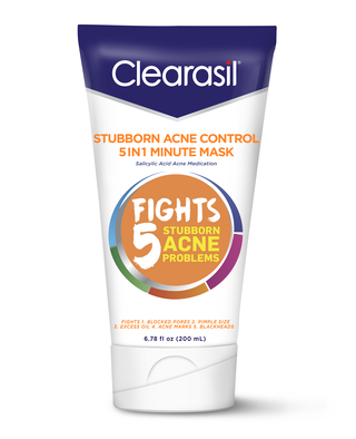CLEARASIL® Stubborn Acne Control 5in1 One Minute Mask 6.78 oz