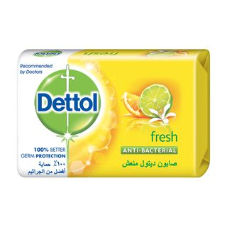Dettol Anti-Bacterial Bar Soap Fresh 120g