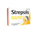 Strepsils Honung & Citron, sugtabletter 36 st
