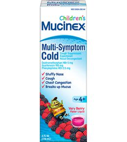 Children's MUCINEX® Multi-Symptom Cold