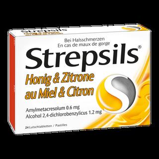 Strepsils® Honig & Zitrone, Lutschtabletten