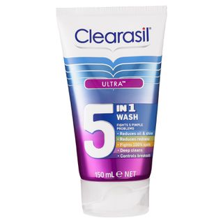 Clearasil Ultra 5 in 1 Cleansing Wash 150ml