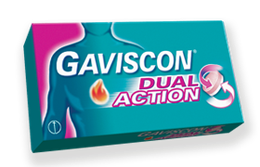 Gaviscon Dual Action Peppermint Tablets