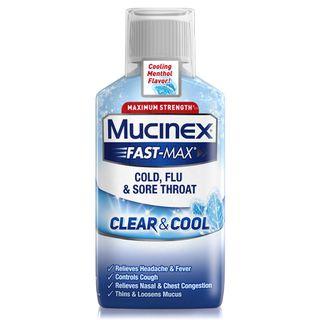 Mucinex® Fast-Max® Clear & Cool, Cold, Flu & Sore Throat