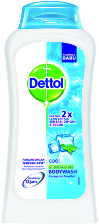 Sabun Cair Anti Bakteri Dettol Cool (125ml)