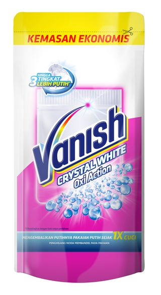 Vanish Crystal White Oxi Action Powder 120gr