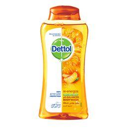 غسول الجسم ديتول جددي نشاطك المضاد للبكتيريا 250 مل