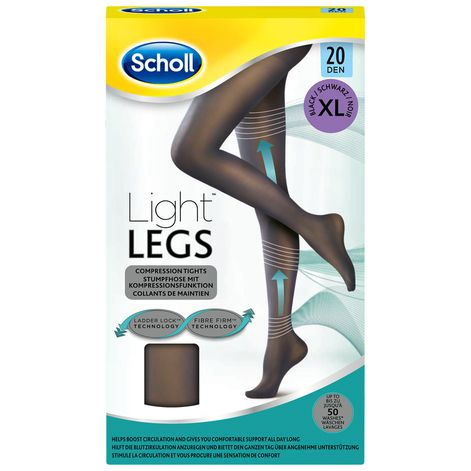 Collants Scholl Light Legs™ 20D Noir XL