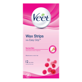 Veet® Wax Strips with Easy Grip™ for Normal Skin