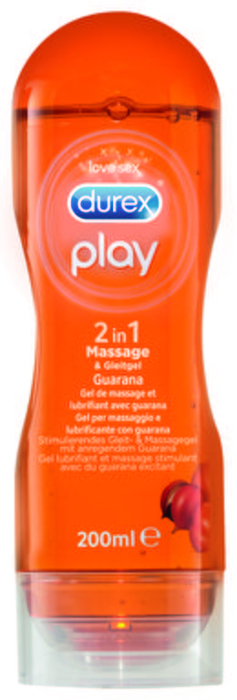 Durex Play 2in1 Massage & Gleitgel Guarana 200ml