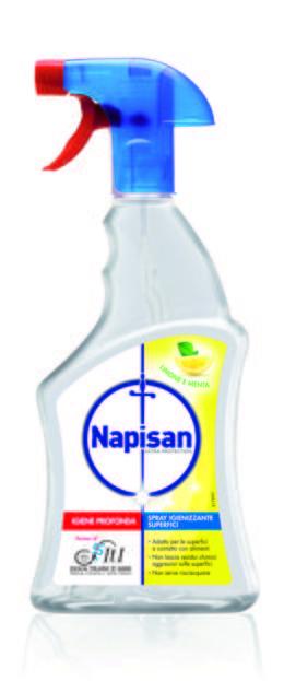Spray Igienizzante Superfici-Limone e Menta