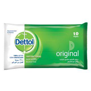 Dettol Skin Wipes Original 10s