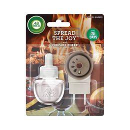 Elektrický Osvěžovač Vzduchu - Strojek & Náplň - Pohodlí U Krbu