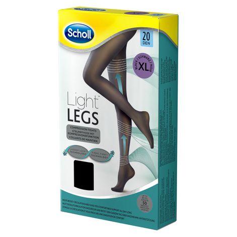 Scholl Light Legs™ Strumpfhose mit Kompressionsfunktion 20 DEN Schwarz XL