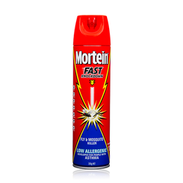 MORTEIN  FAST KNOCKDOWN ULTRA LOW ALLERGENIC FLY & MOSQUITO KILLER