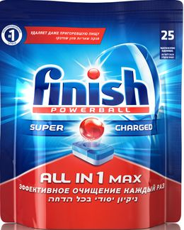 Finish All in One таблетки 25 шт