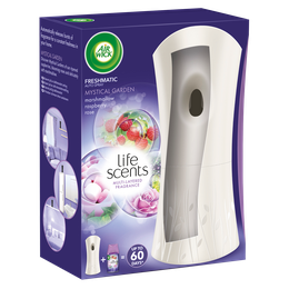 Air Wick Freshmatic Auto Spray Starter Kit Life Scents Mystical Garden 250 ml